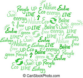 Ecology cover - Creative design of ecology cover