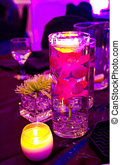 Wedding Flowers and Decor at Reception
