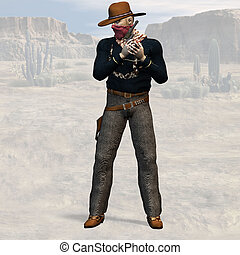 Bad Guy #05 - Wild West Series with Cowboys, Indians, Good...