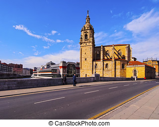 San Anton Church in Bilbao - Iglesia de San Anton - Church...