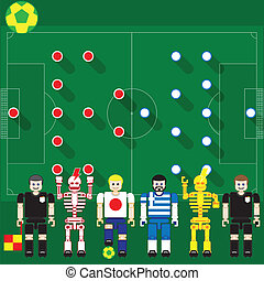 Japan vs Greece - Group stage match The opposite of...