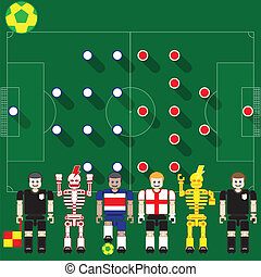 Costa Rica vs England - Group stage match The opposite of...