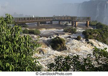 Iguacu Falls - Iguacu fall in Brazil