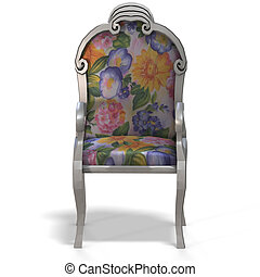 classical chair - front view