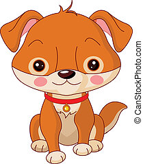 Farm animals Dog - Farm animals Illustration of cute Dog