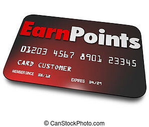 Earn Points Credit Card Rewards Program Best Choice - Earn...