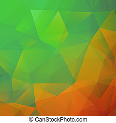 Spectrum geometric background. + EPS10