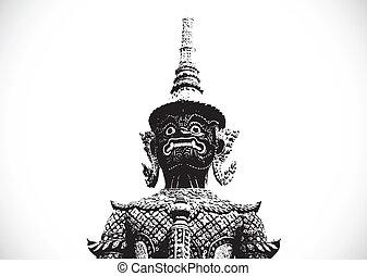 thai giant art