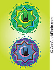 Islamic pattern - Classic Islamic Pattern Graphic Icon