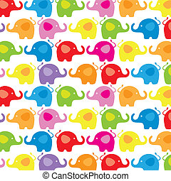 background color elephants