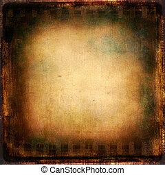 Texture  - Vintage film background. Grunge texture