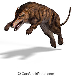 Andrewsarchus - Dangerous dinosaur Andrewsarchus With...