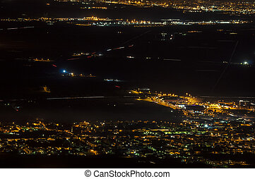 Night life - An image of a night scene in Tuscany, Italy.