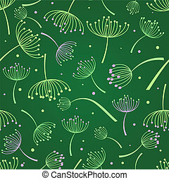 floral seamless background - floral seamless pattern with...
