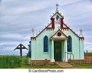 Italian Chapel, Orkney, Scotland