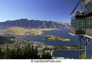 Queenstown - New Zealand - Queenstown is a resort town in...
