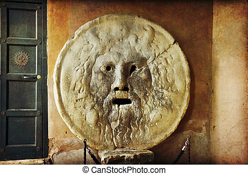 Rome - Bocca della Verita. Mouth of Truth. Rome, Italy