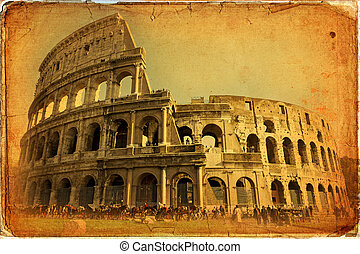 Rome - Great Colosseum, Rome, Italy