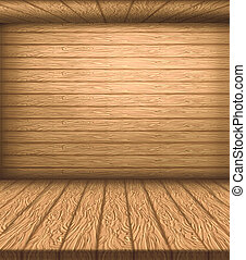 natural, madeira, Pavimentando