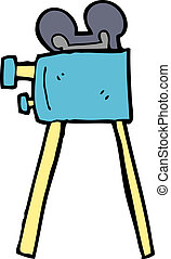 cartoon movie camera