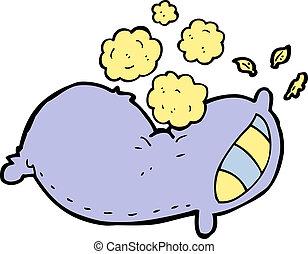 cartoon pillow