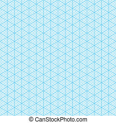 Isometric graph paper - Seamless
