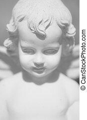 天使, 雕像