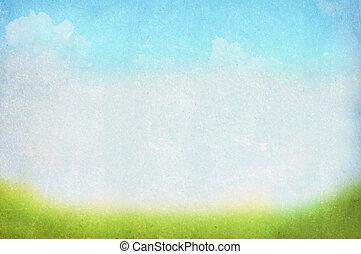 Spring, summer background - vintage spring/summer background
