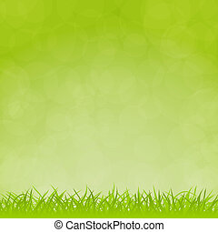 vector natural background - Green vector natural background...