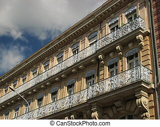 railings, building - Toulouse, Capital of Haute Garonne and...