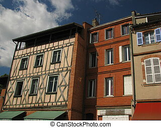 Old House - Toulouse, Capital of Haute Garonne and Midi...