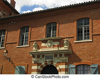 Sculpture, House - Toulouse, Capital of Haute Garonne and...