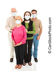 Epidemic - Worried Family - Family worried about a health...