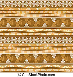 Seamless pattern with Mexican design