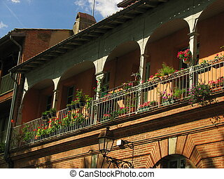 ancient, house - Toulouse, Capital of Haute Garonne and Midi...