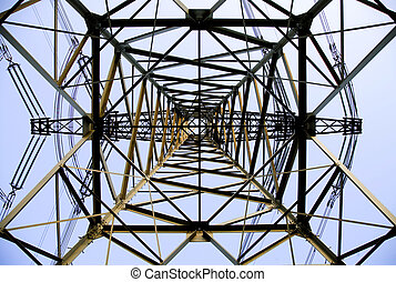 Power tower - Abstract view of a power tower
