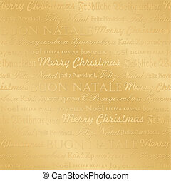seamless christmas pattern (vector) - seamless pattern with...