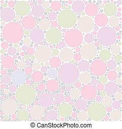 Pastel circle background