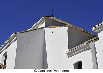 Andalucian Church - A whitewashed Spanish Andalucian church...