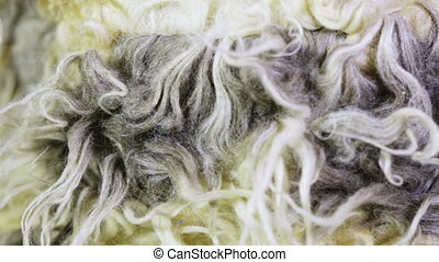Artificial fur texture - Rotating artificial light fur...