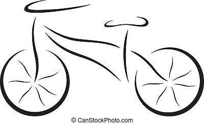 Illustration of bicycle