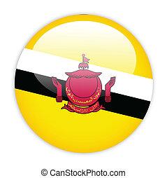 Brunei flag button
