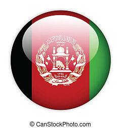 Afghanistan flag button