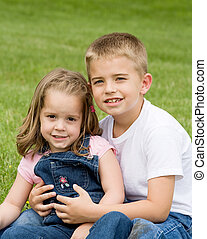 Brother Sister - Happy Brother and Sister