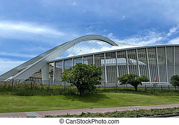 Soccer stadium in Durban - South Africa Moses Mabhida soccer...