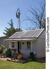 Old Cottage - An old, small cottage in rural New South...