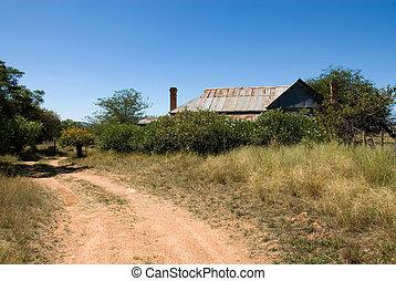 Old House - An old, dilapidated house on a farm near Mudgee,...
