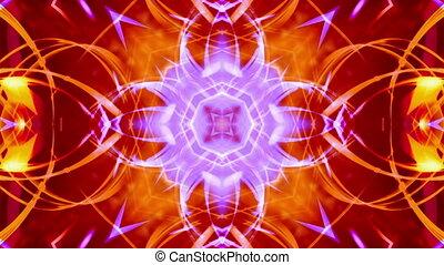 Psychedelic multicolor loop X24
