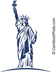 Statue of Liberty image logo - Statue of Liberty image....