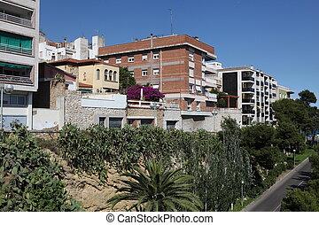 buildind, españa,  tarragona